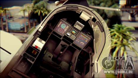 EMB 314 Super Tucano Colombian Air Force pour GTA San Andreas vue de droite