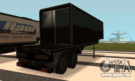 PS2 Article Trailer 3 pour GTA San Andreas sur la vue arrière gauche