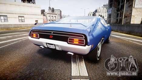 Ford Falcon XB GT351 Coupe 1973 pour GTA 4 Vue arrière de la gauche