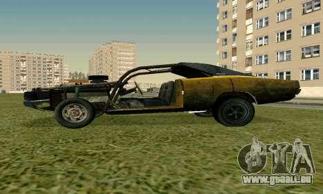 Dodge Charger RT HL2 EP2 pour GTA San Andreas sur la vue arrière gauche