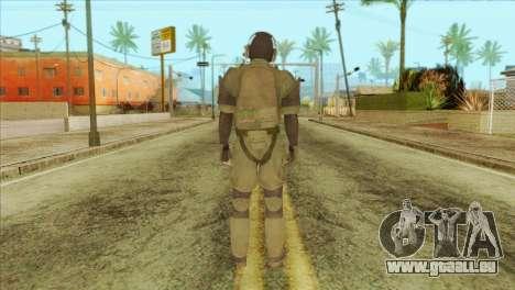 Metal Gear Solid 5: Ground Zeroes MSF v1 pour GTA San Andreas deuxième écran