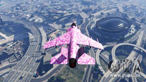 Hydra pink urban camouflage pour GTA 5