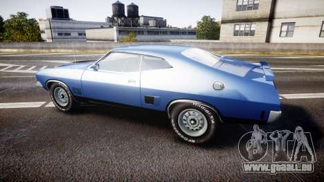 Ford Falcon XB GT351 Coupe 1973 pour GTA 4 est une gauche