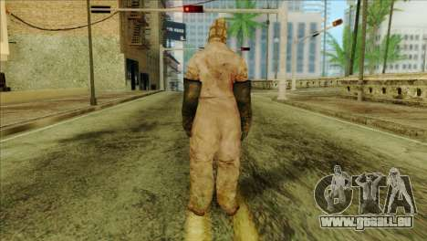 Order Soldier Alex Shepherd Skin für GTA San Andreas zweiten Screenshot