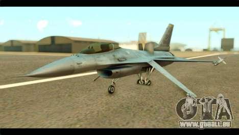 Lockheed Martin F-16C Fighting Falcon Warwolf für GTA San Andreas