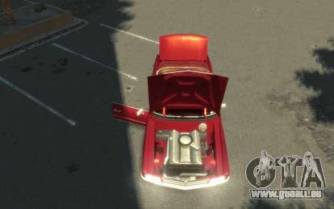 GTA 3 Yardie Lobo HD pour GTA 4 Vue arrière