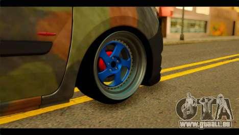 Mercedes-Benz Citan Stance für GTA San Andreas zurück linke Ansicht