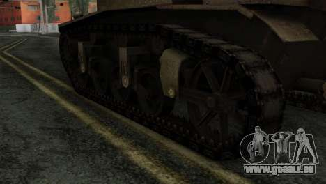 T18 pour GTA San Andreas sur la vue arrière gauche