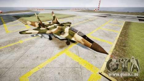 Die MiG-29 für GTA 4