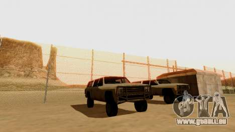 DLC 3.0 Militaire mise à jour pour GTA San Andreas douzième écran