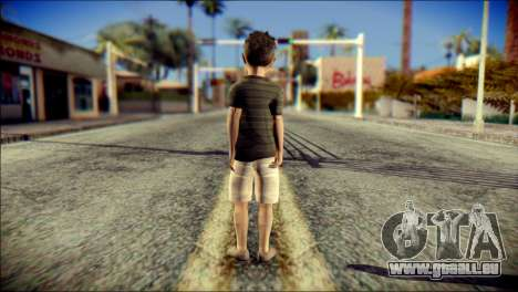 Dante Brother Child Skin für GTA San Andreas zweiten Screenshot
