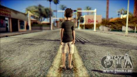 Dante Brother Child Skin pour GTA San Andreas deuxième écran