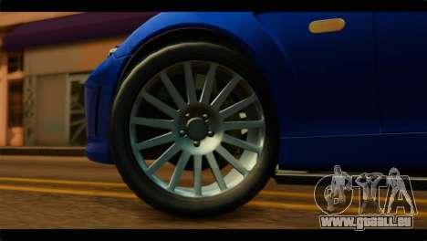MP3 Dewbauchee XSL650R IVF pour GTA San Andreas sur la vue arrière gauche