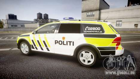Volkswagen Passat B7 Police 2015 [ELS] marked für GTA 4 linke Ansicht