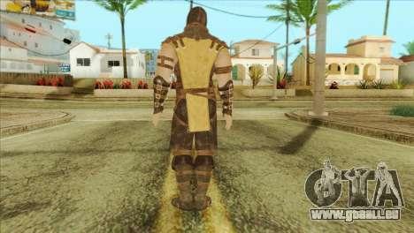 Mortal Kombat X Scoprion Skin für GTA San Andreas zweiten Screenshot