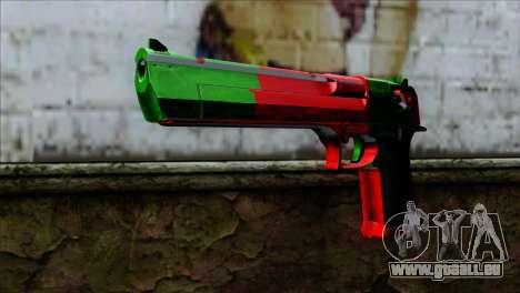 Desert Eagle Portugal für GTA San Andreas