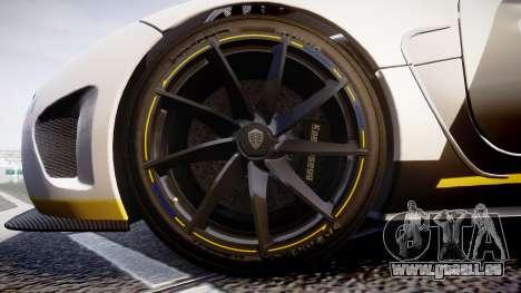 Koenigsegg Agera 2013 Police [EPM] v1.1 Low Qual pour GTA 4 Vue arrière