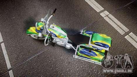 GTA V Western Motorcycle Company Sovereign BRA für GTA 4 rechte Ansicht
