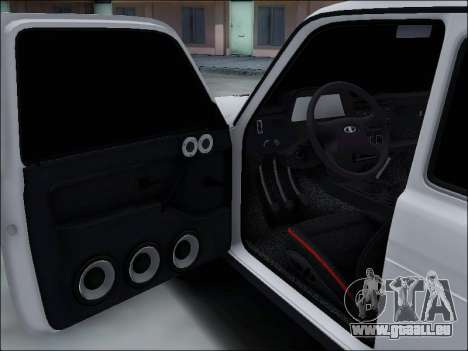 Lada Niva für GTA San Andreas Unteransicht