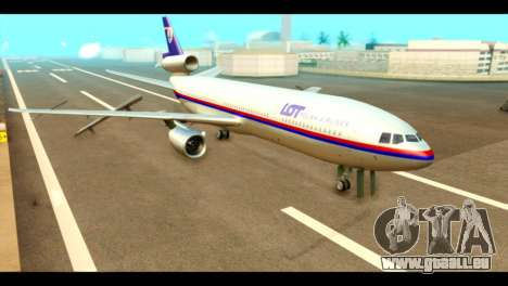 DC-10-30 PLL LOT pour GTA San Andreas
