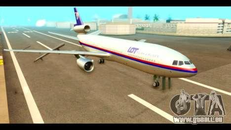 DC-10-30 PLL LOT für GTA San Andreas