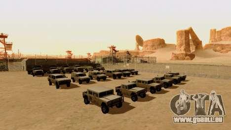 DLC 3.0 Militaire mise à jour pour GTA San Andreas quatrième écran