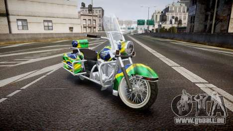 GTA V Western Motorcycle Company Sovereign BRA für GTA 4
