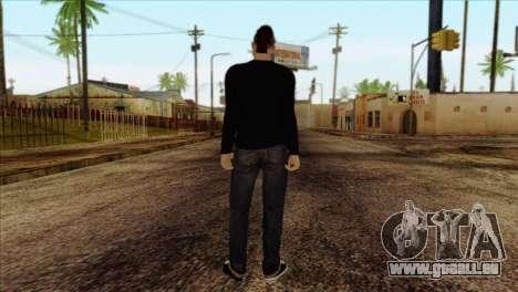 Skin 1 from GTA 5 pour GTA San Andreas deuxième écran