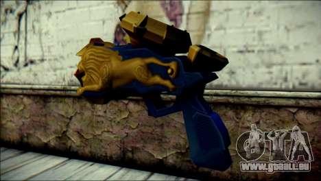 Hyper Magnum Kamen Rider Beast pour GTA San Andreas deuxième écran