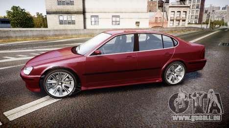 Emperor Lokus LS 350 Elegance pour GTA 4 est une gauche