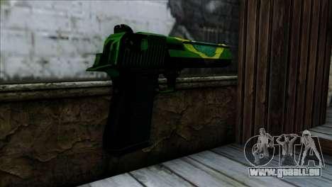 Desert Eagle Brazil pour GTA San Andreas deuxième écran