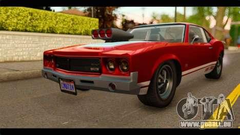 GTA 5 Declasse Sabre GT Turbo pour GTA San Andreas