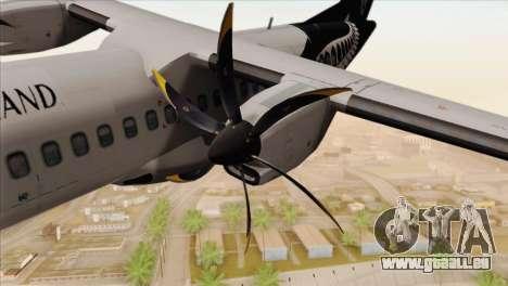 ATR 72-500 Air New Zealand für GTA San Andreas rechten Ansicht