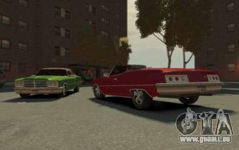 GTA 3 Yardie Lobo HD für GTA 4 Innenansicht