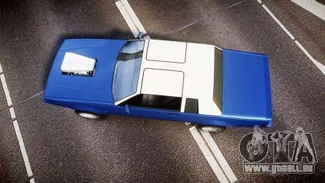 Willard Faction Turbo T pour GTA 4 est un droit