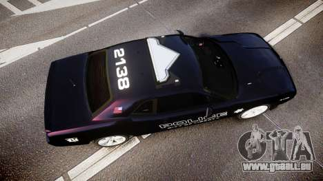 Dodge Challenger SRT8 Police [ELS] für GTA 4 rechte Ansicht