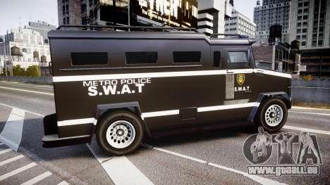 GTA V Brute Police Riot [ELS] skin 5 pour GTA 4 est une gauche