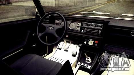 VAZ 2105 pour GTA San Andreas vue de droite