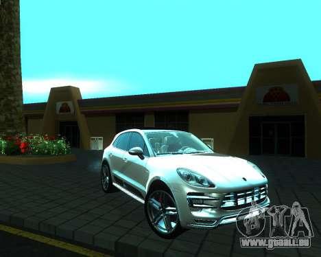 Porsche Macan Turbo für GTA San Andreas rechten Ansicht