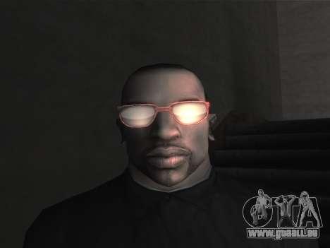 De nouvelles lunettes pour CJ pour GTA San Andreas neuvième écran
