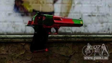 Desert Eagle Portugal für GTA San Andreas zweiten Screenshot