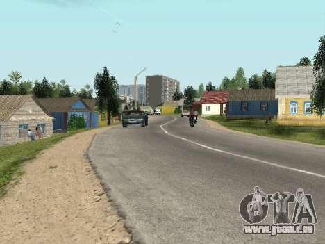 Prostokvashino pour GTA Pénale de la Russie bêta pour GTA San Andreas deuxième écran