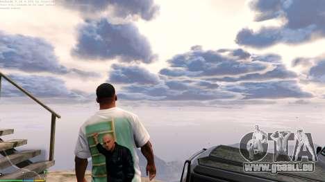 GTA 5 T-shirt for Franklin. - Fizruk deuxième capture d'écran