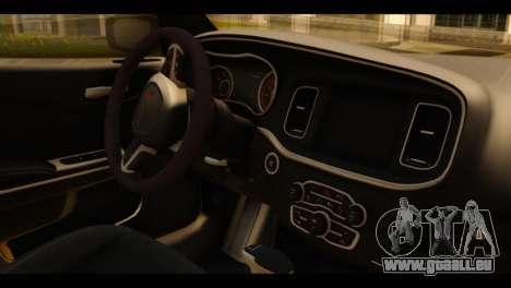 Dodge Charger RT 2015 Hestia pour GTA San Andreas vue de droite
