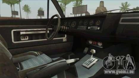 GTA 5 Declasse Stallion für GTA San Andreas rechten Ansicht