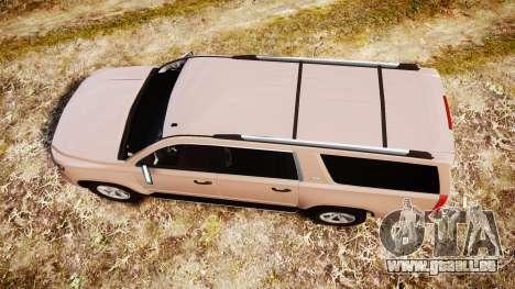 Chevrolet Suburban LTZ 2015 pour GTA 4 est un droit