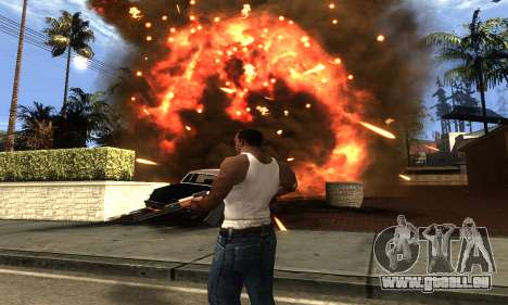 ENB Double Effect für GTA San Andreas fünften Screenshot