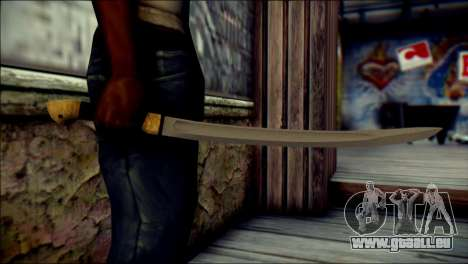 Red Army Shashka pour GTA San Andreas troisième écran