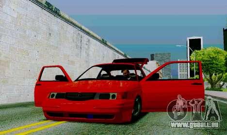 VAZ 2112 für GTA San Andreas Innenansicht