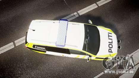 Volkswagen Passat B7 Police 2015 [ELS] marked pour GTA 4 est un droit